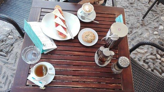Café 4 Gatos: El desayuno
