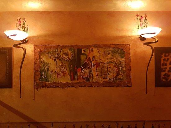 Savana Ristorante Eritreo: quadri