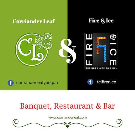 The Corriander Leaf Restaurant, Banquet & Bar in Yangon.
