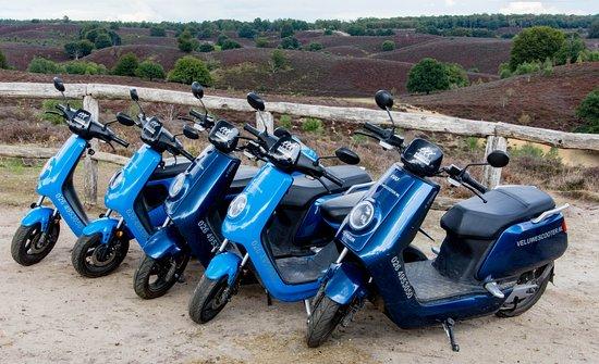 VeluweScooter | Veluwe Actief: VeluweScooter. Elektrische Scooters huren op de Veluwezoom.