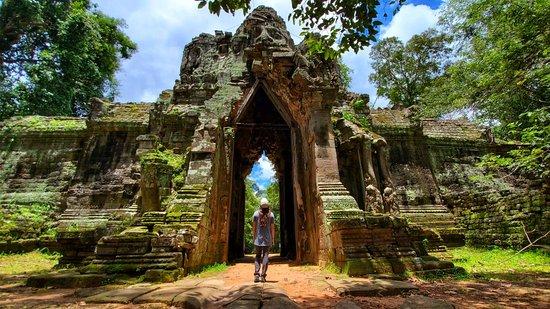 Siem Reap, Kambodža: Chen Angkor Wat TukTuk Transports