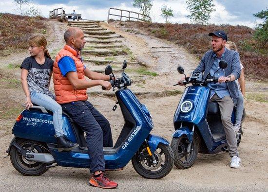 VeluweScooter | Veluwe Actief: Ouder en kind scooters, volledig elektrisch.