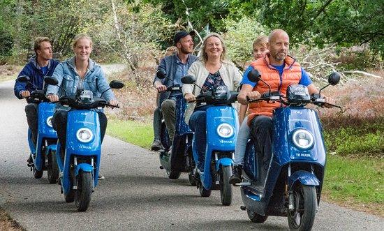 VeluweScooter | Veluwe Actief: Elektrische scooters, beschikbaar tot groepen van 50 personen!