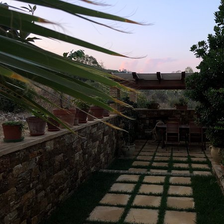Qui potete vedere l'ampio balcone con vista mare e troverete anche il magico FRANK .....🐶🐶🐶......
