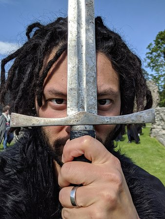 Game of Thrones® Winterfell Trek from Dublin: yes. you get to play with real swords...
