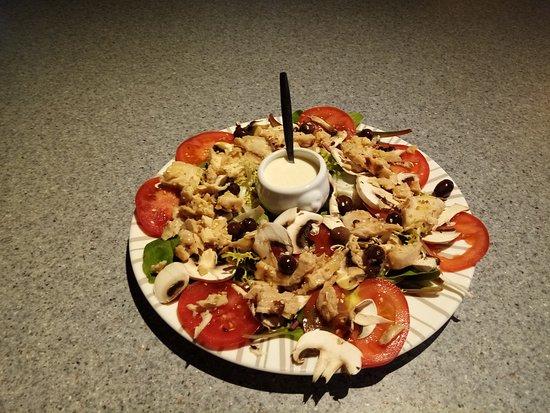 Auxonne, Frankrike: exemple de Salade du Jour