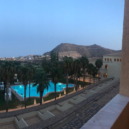 La Envia, Spanien: View from 5th floor, with a balcony