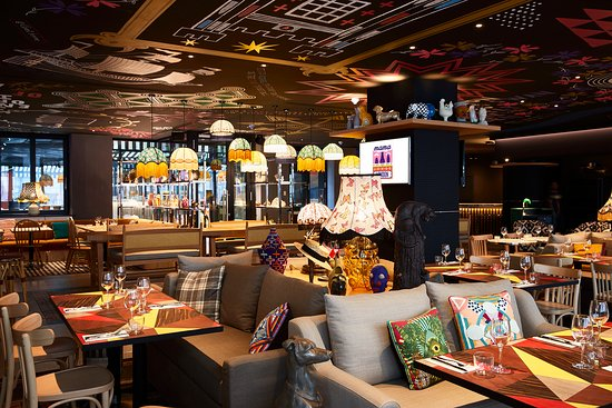 Le Restaurant Mama Shelter London Picture Of Mama Shelter Restaurant Bar Karaoke London Tripadvisor