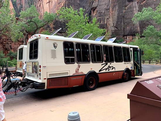 shuttles in and out of the park