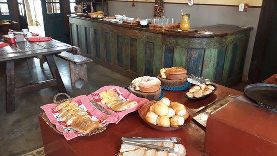 Café da manhã maravilhoso para começar bem o dia