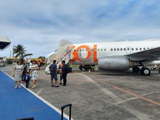 GOL Airlines: Desembarque Ilhéus