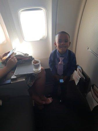 GOL Airlines: espaço para pernas generoso fileira 1