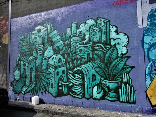 "Fresque ""Habitat vert"""