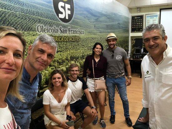 Begíjar, España: Gracias por abrirnos los ojos y dejarnos un sabor de boca imborrable!!