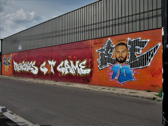 "Fresque ""Frenchies got Game"": La fresque"