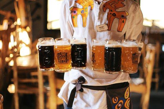 Фірмове пиво з нашої броварні.
