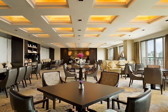 Midtown Shangri-La,Hangzhou: Horizon Club Lounge