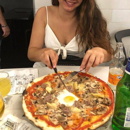 Pizza capricciosa!