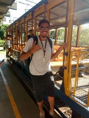 Centro : Passeio de Bondinho a caminho de Santa Teresa  Lucas Kenji - Guia de Turismo