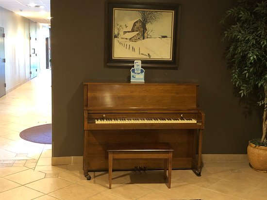 Ramada by Wyndham Watertown - piano in lobby