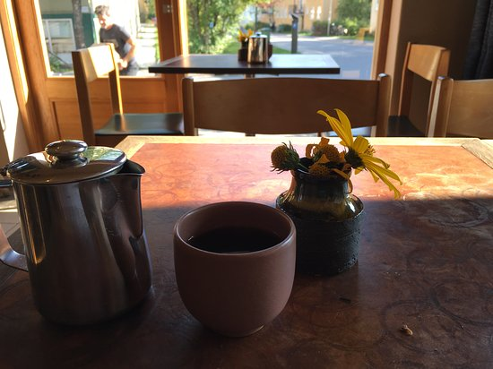 AB Cafe: Coffee and a view