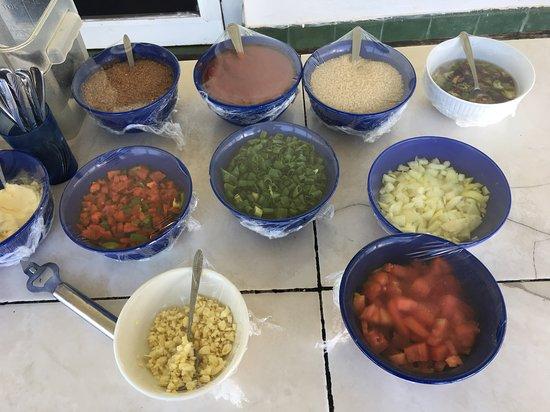 料理の材料
