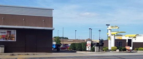 dual lane drive-thru at McDonald's