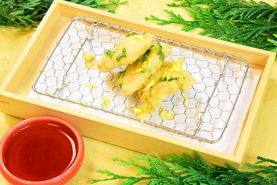鶏むね肉菊菜
