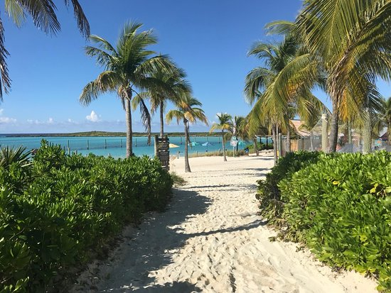 Castaway Cay - the way to one of the beaches