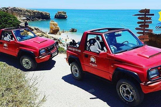 吉普车游览城市和阿尔布费拉海岸