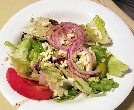 Erio's Ristorante: a small salad
