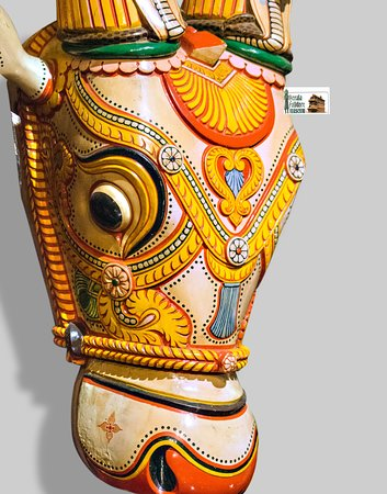 Bull head, used as a part of Kettukazcha