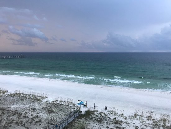 View from the balcony at the gulf