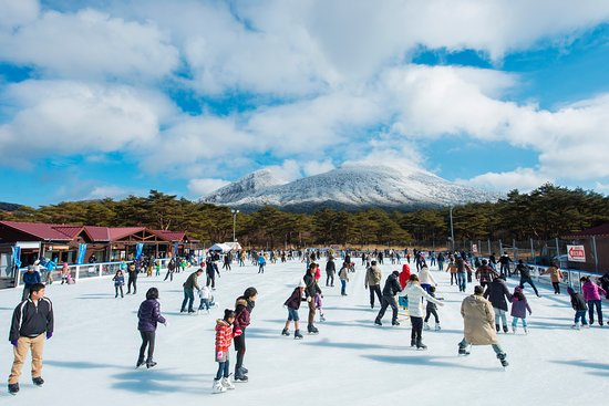 ‪Ebino Kogen Artificial Ice Rink‬
