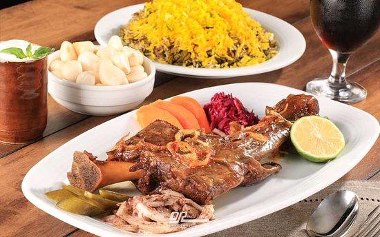 Mahiche in Orkideh restaurant