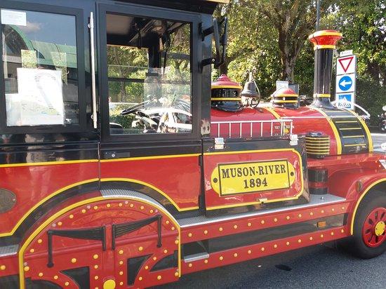 La Perla del Lago: Il trenino che gira per la città