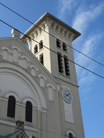 Eglise Notre-Dame de Lourdes: Le clocher