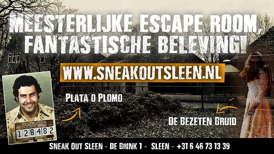 ‪Sneak Out Sleen escape room‬