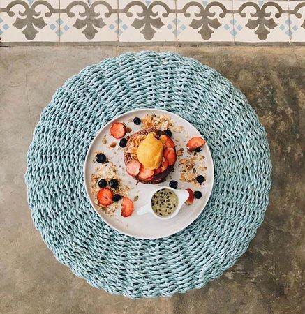 Vegan Purple Pancake