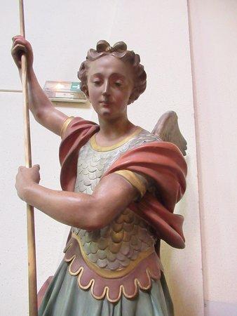 Détail de statue