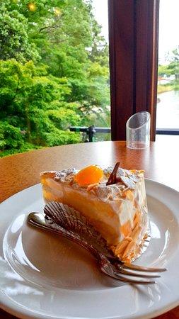 Cafe La Terrace: 栗子蛋糕