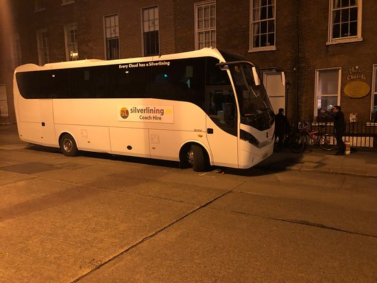 Silverlining Coach Hire: Evening hire