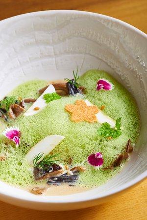 Chez Olivier: mushrooms, eggs