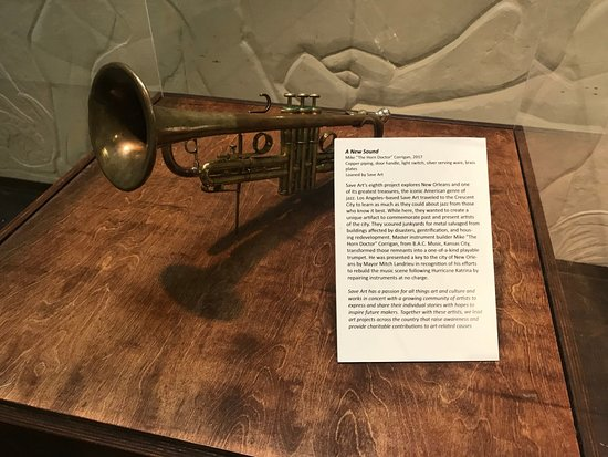 "Skip the Line: New Orleans Jazz Museum Admission Ticket: Save Art - Mike ""The Horn Doctor"" Corrigan's work, 2017"