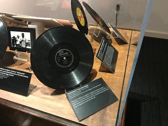 Skip the Line: New Orleans Jazz Museum Admission Ticket: Professor Longhair's records