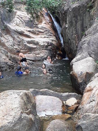 Waterfall stop