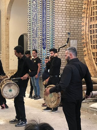 Black ceremony and its spectacular rhythm in Yazd