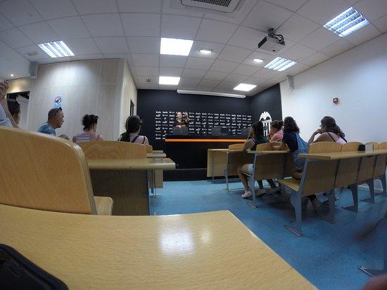 Mestalla Forever Tour: Press briefing room