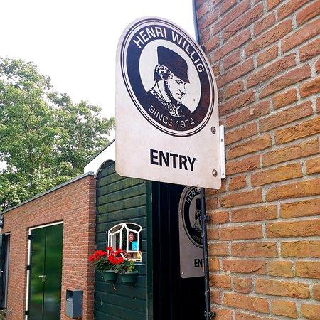 Volendam, Hollanda: Henri Willig cheese factory