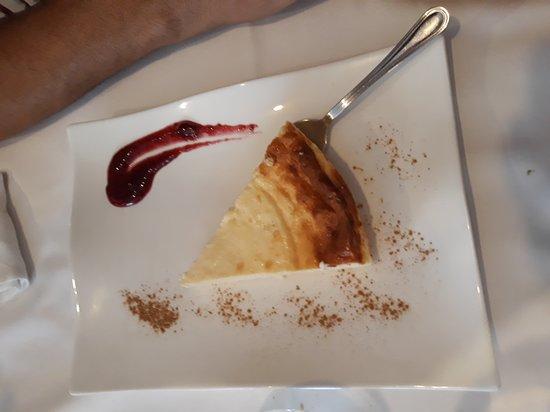 Tramacastilla de Tena, España: Tarta de queso